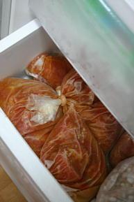 トマトの冷凍保存