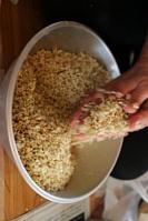 麦麹1k、米麹1k、合わせ味噌に