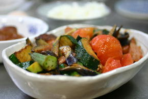 夏野菜炒め